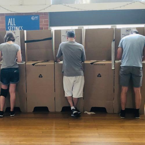 Greens lead push to lower voting age to 16 in the ACT