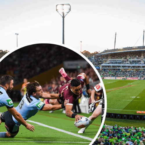 Could Canberra be lining up to host the State of Origin opener?