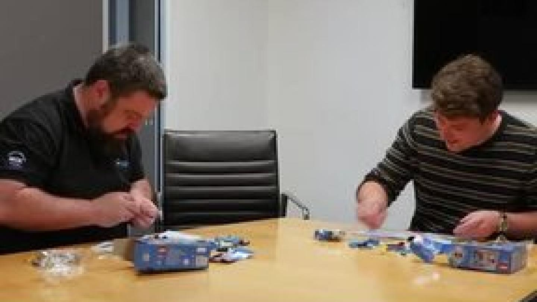 Nige vs A Lego Master!