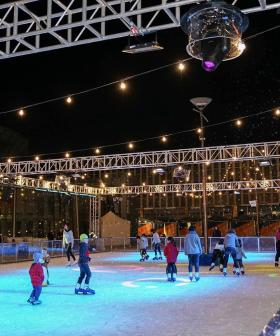 Civic's ice-skating rink is BACK this Winter