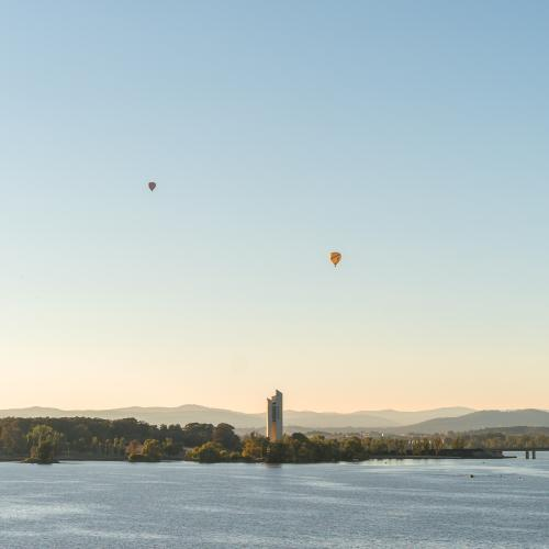 The Pandemic is impacting Canberra's air quality