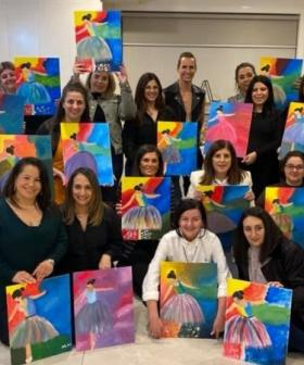 Ever Heard About These Paint and Sip Events? We've Found A Place That Does Them
