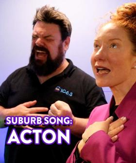 Kristen and Nige's Suburb Song: Acton (Definitely Not New Acton)