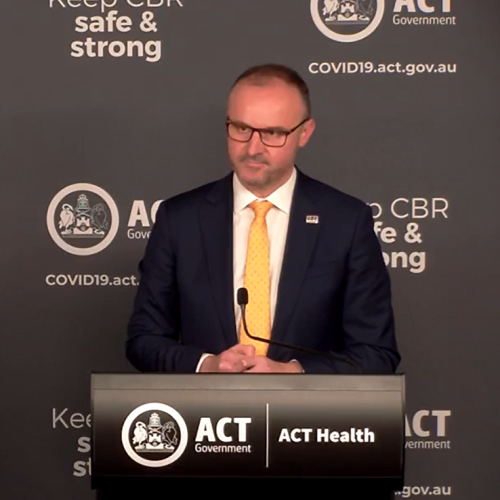 Record day for COVID cases in the ACT