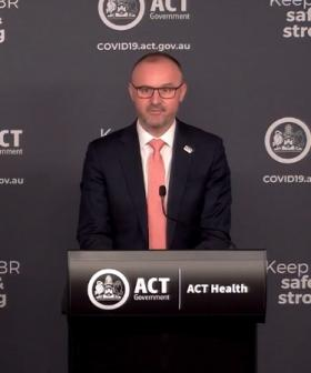 Chief Minister Andrew Barr Released Canberra's Transition Out Of Lockdown