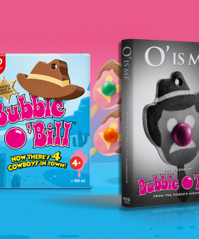 Bubble O'Bill's Available In Packs Of 4 AND Is Dropping An Autobiography!