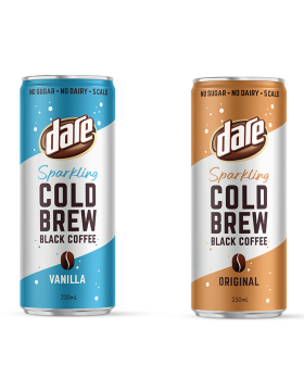 Dare Have Dropped Two New Sparkling Cold Brew Flavours!