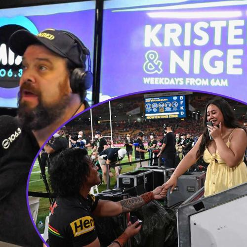 Kristen and Nige Hear Canberrans Best Public Proposal's