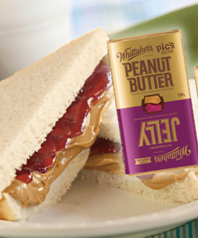 Whittaker's Have Released What Could Be The Ultimate Flavour Combo... The Peanut Butter & Jelly Block